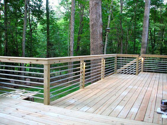 Deck railing ideas  02