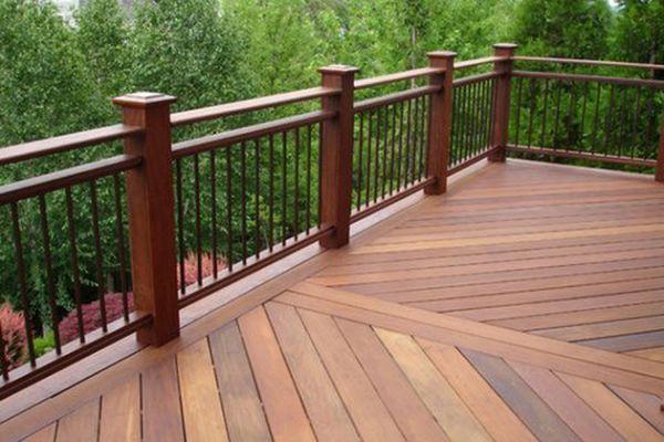 Deck railing ideas  46