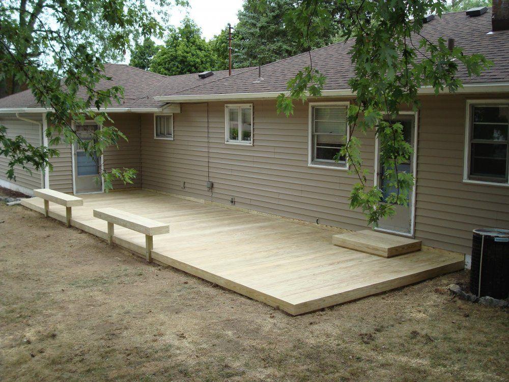 ground level deck  71