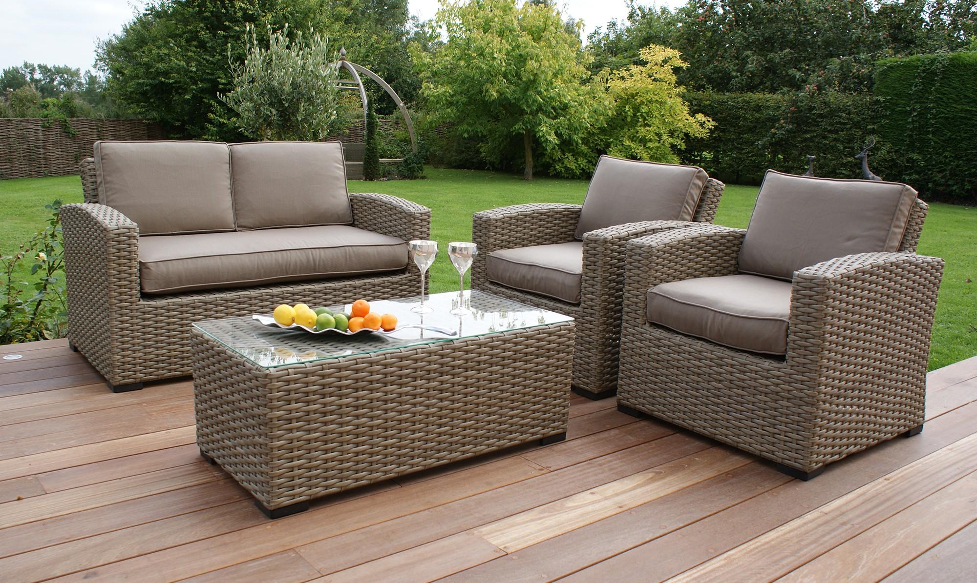 Rattan sofa sets  62