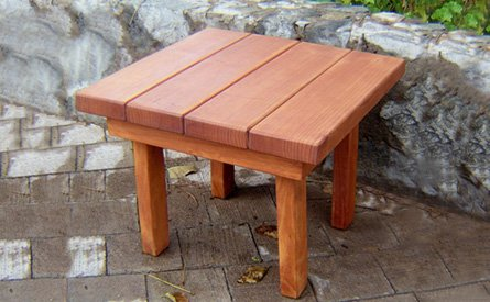 small outdoors tables  91