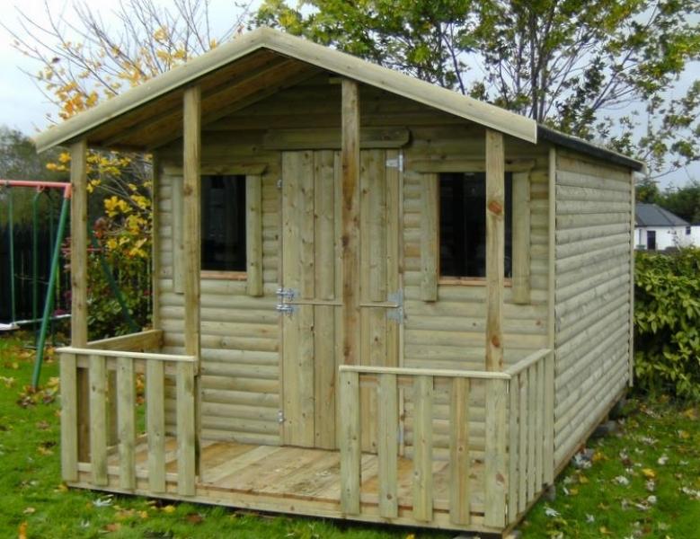 Wooden garden sheds  43