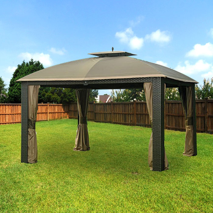 Big lots gazebos for efficient and stylish extra space! & Big lots gazebos for efficient and stylish extra space ...