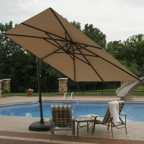 Stylish and Convenient Cantilever Patio Umbrella