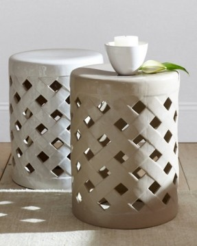Ceramic Garden Stool Fits Well In Limited E Of You