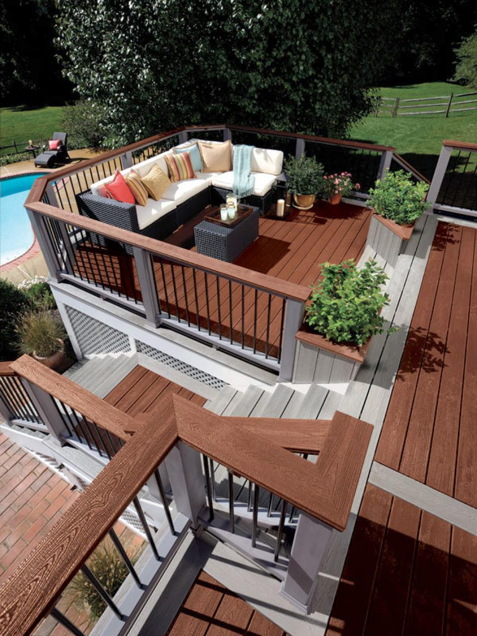 Ideas For Deck Designs deck design ideas Deck Design Ideas For The Most Suited Deck For Your House