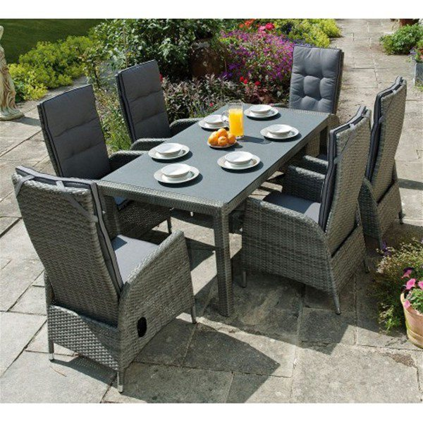 get classy and enormous look with garden furniture sets - Garden Furniture Table And Chairs