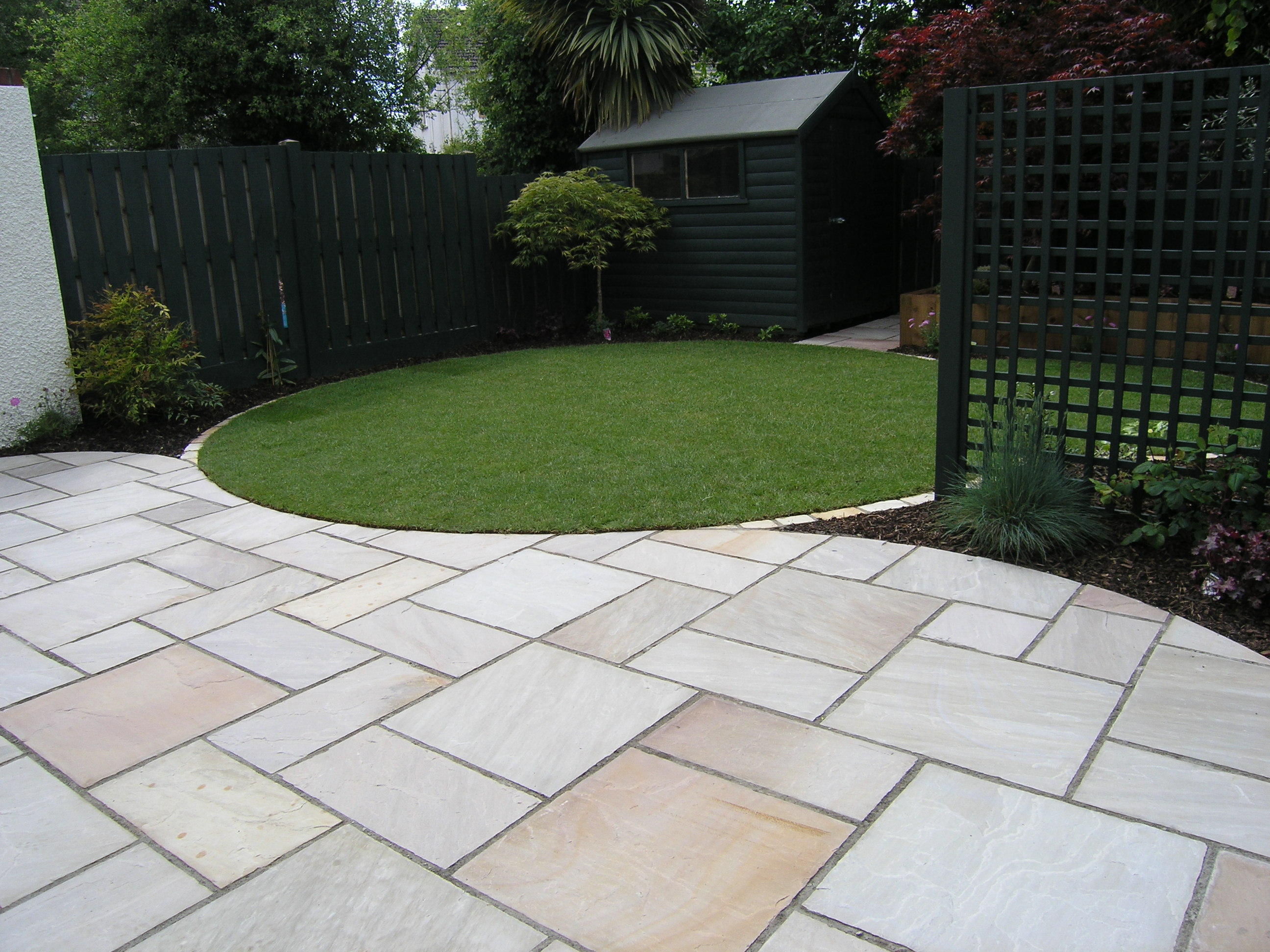 ideas the garden recessed hatch patio for pin inspection cover manhole gardens