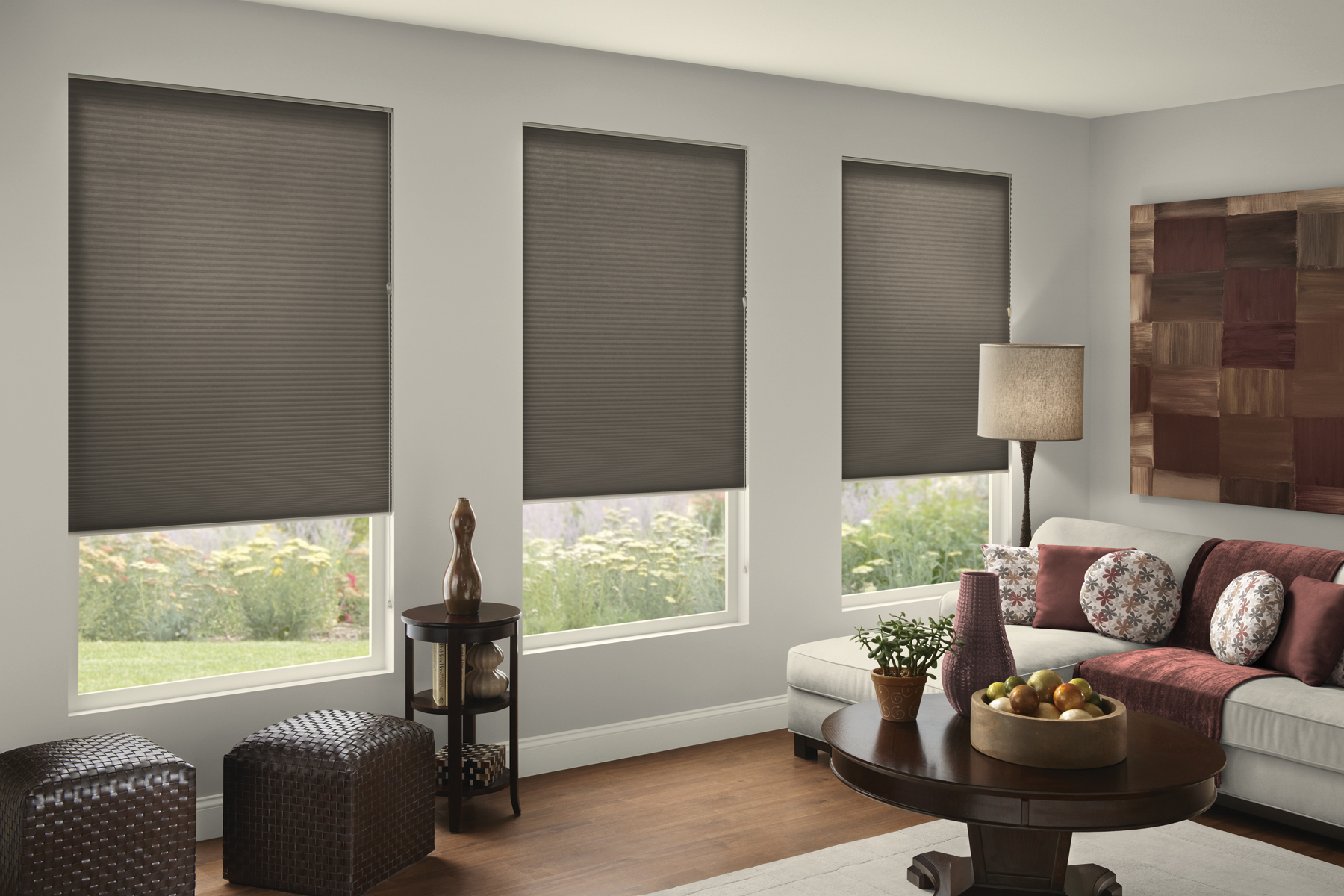 inch blackout grey and target windows g blinds beige mini curtains