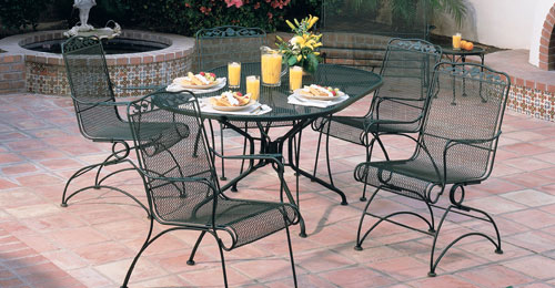 Good Metal Patio Furniture To Reflect Your Style CareHomeDecor