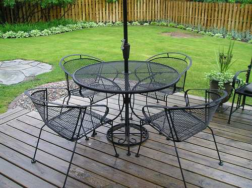 Metal Patio Furniture To Reflect Your Style CareHomeDecor