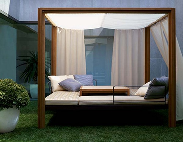 Outside Bed enjoy the sunny dya with outdoor bed – carehomedecor