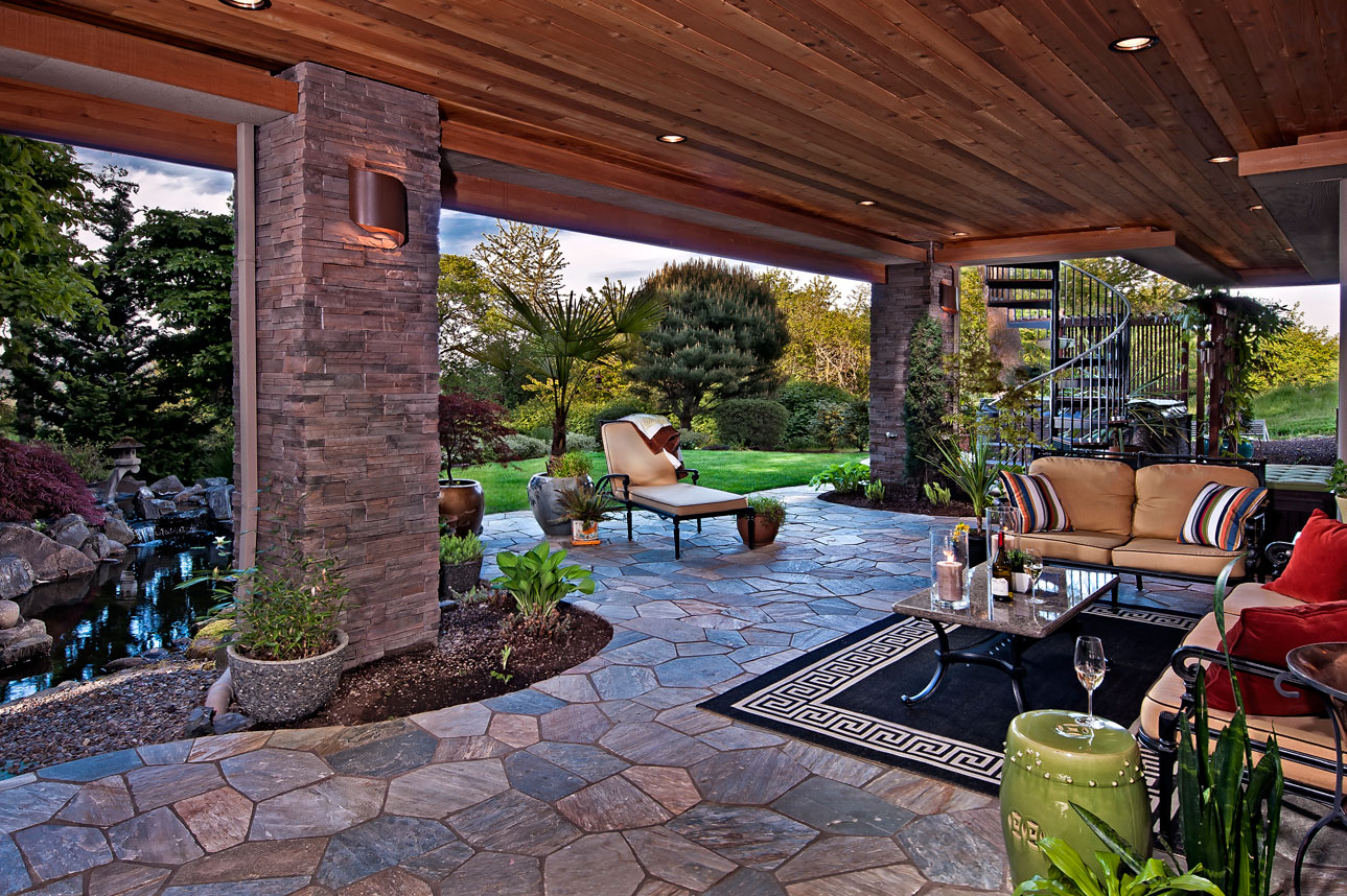 Make your outdoor living spaces beautiful and elegant for Decorating outdoor spaces