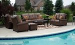 Your pool with stylish outdoor pool furniture