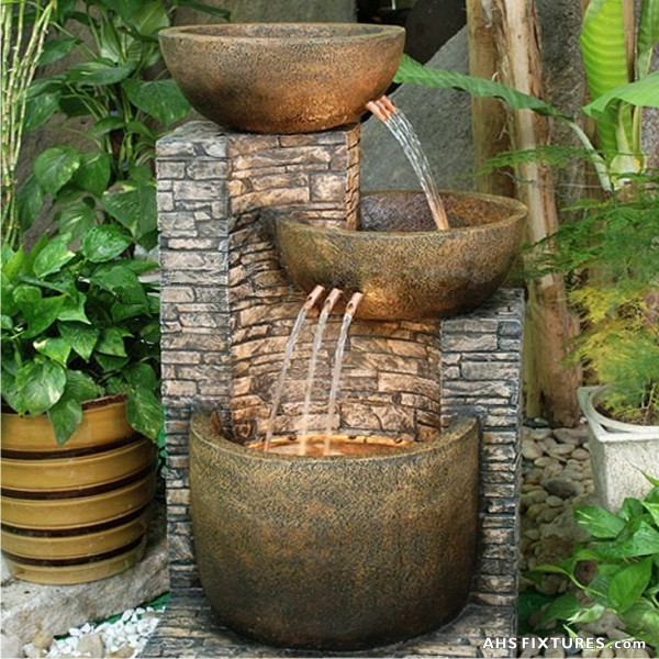 Merveilleux Patio Fountains  Create Heaven In Your Garden