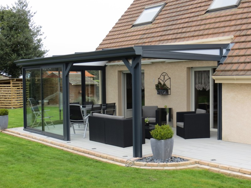 Pergola aluminium perfect fit to your garden carehomedecor - Maison de jardin castorama ...