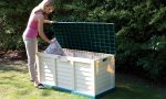 Plastic garden storage- innovative product to your garden