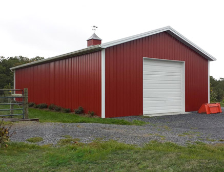 Tips to build a pole barn of your own carehomedecor for 40x50 shop cost