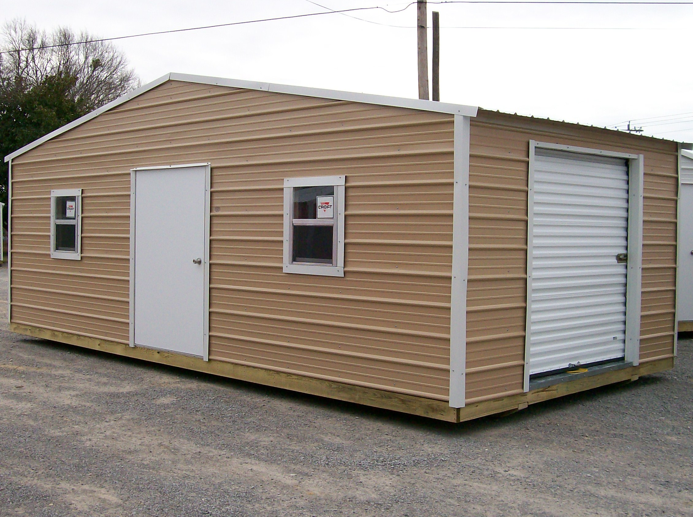 Different types of portable storage buildings carehomedecor for Barn storage shed
