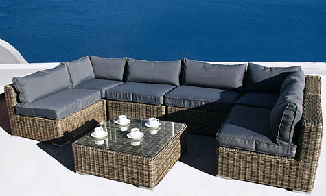 cheap rattan garden furniture. Black Bedroom Furniture Sets. Home Design Ideas