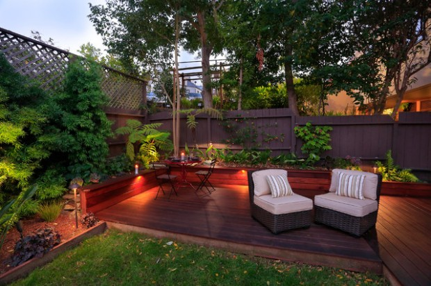 Small Backyard Landscaping Ideas To Create A Special Corner At - Backyard landscape ideas