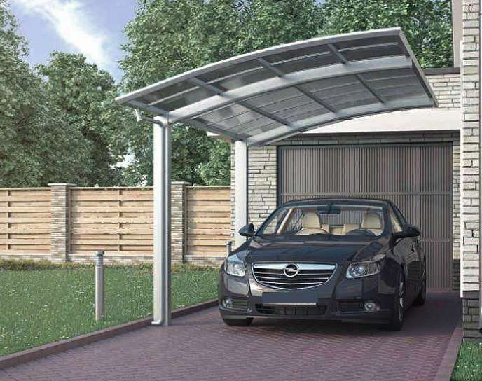 Aluminium carport  87