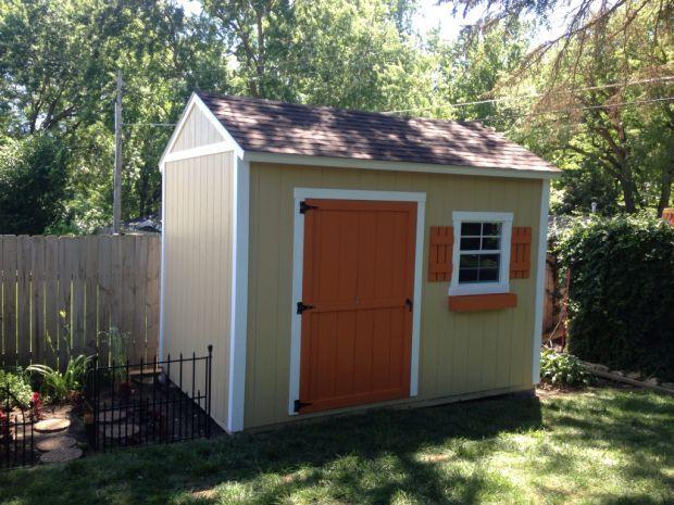 Backyard sheds  99