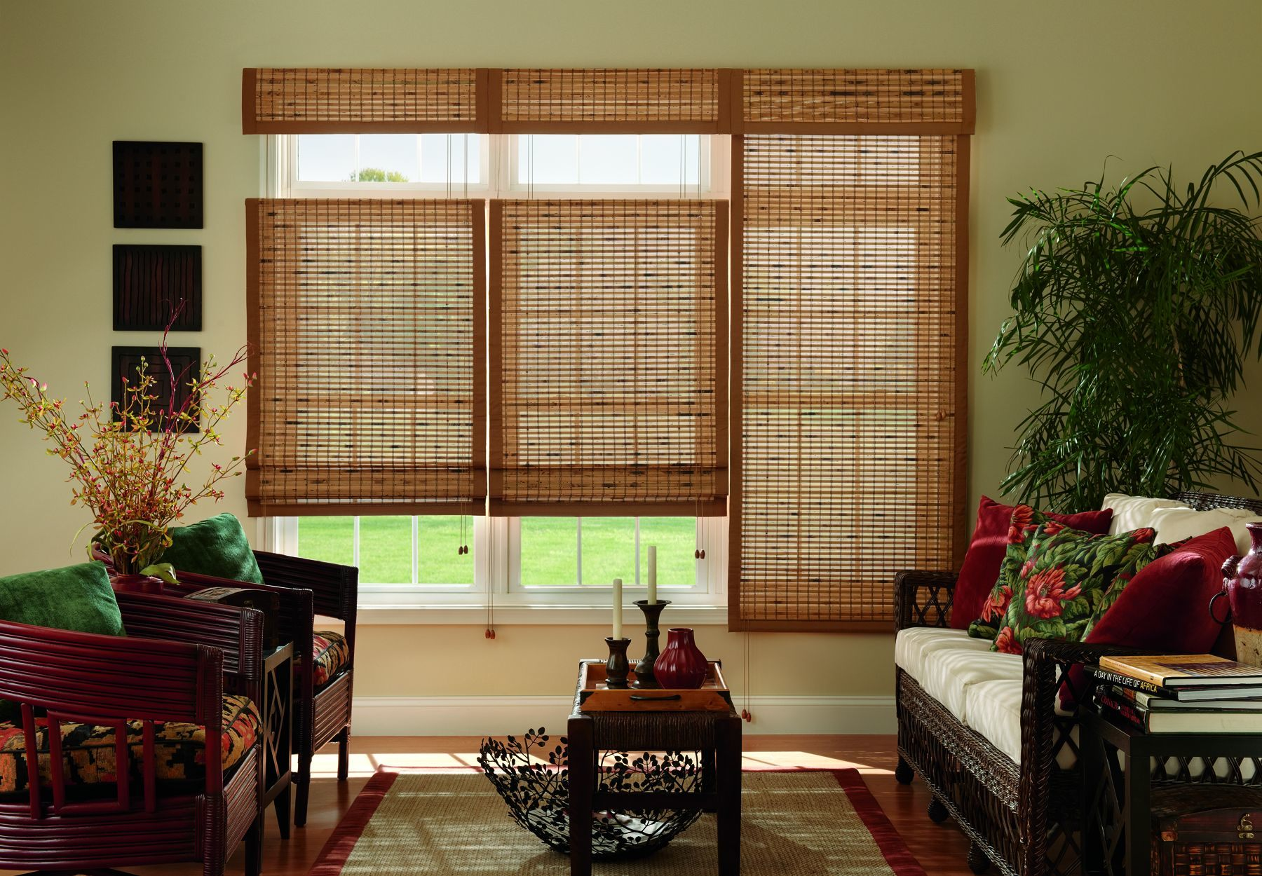 Bamboo blinds  85