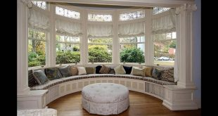 Bay window treatments  22