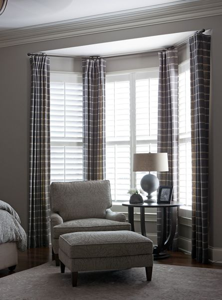 Bay window treatments  39