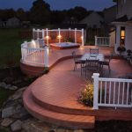 Create beautiful Patio decks to your old home garden