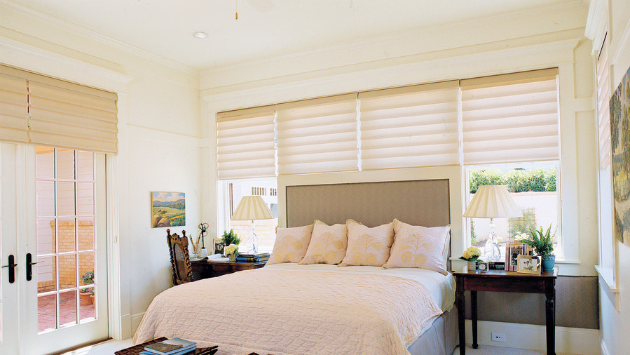 Bedroom window treatments  83