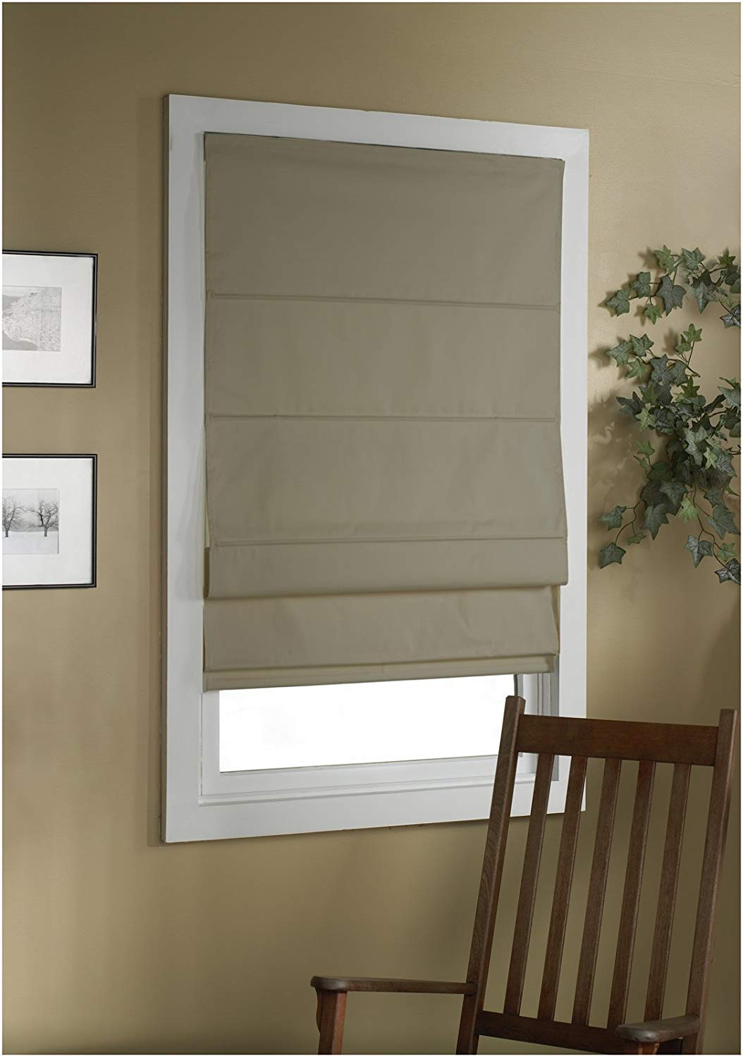 Blackout Roman shades  50