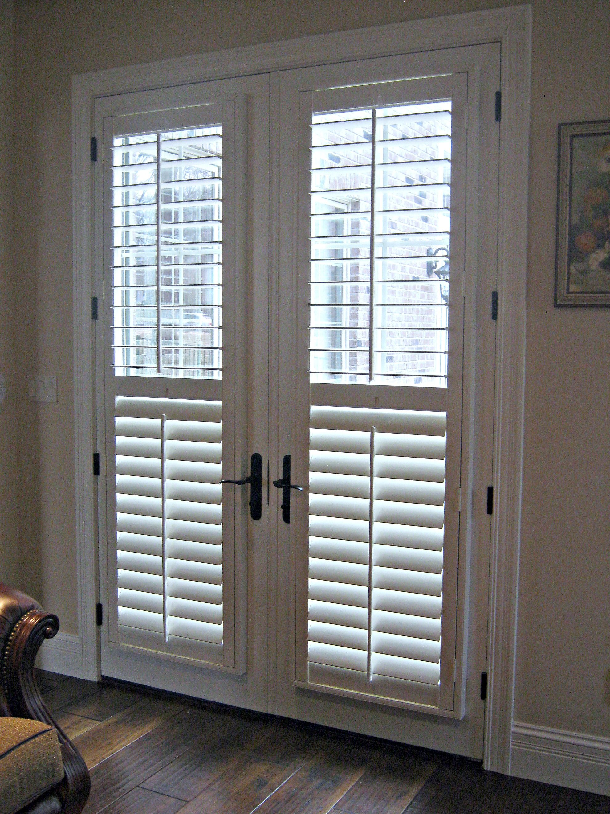 Blinds for french doors  25