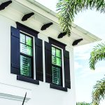 Go classy with board and batten shutters