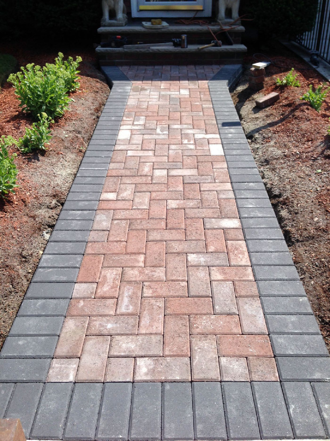 Brick pavers  95