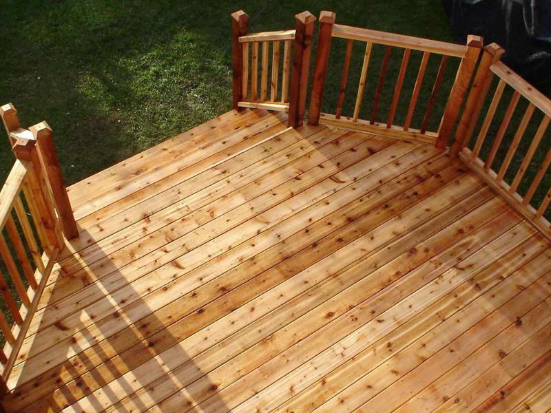 Cedar decking  73