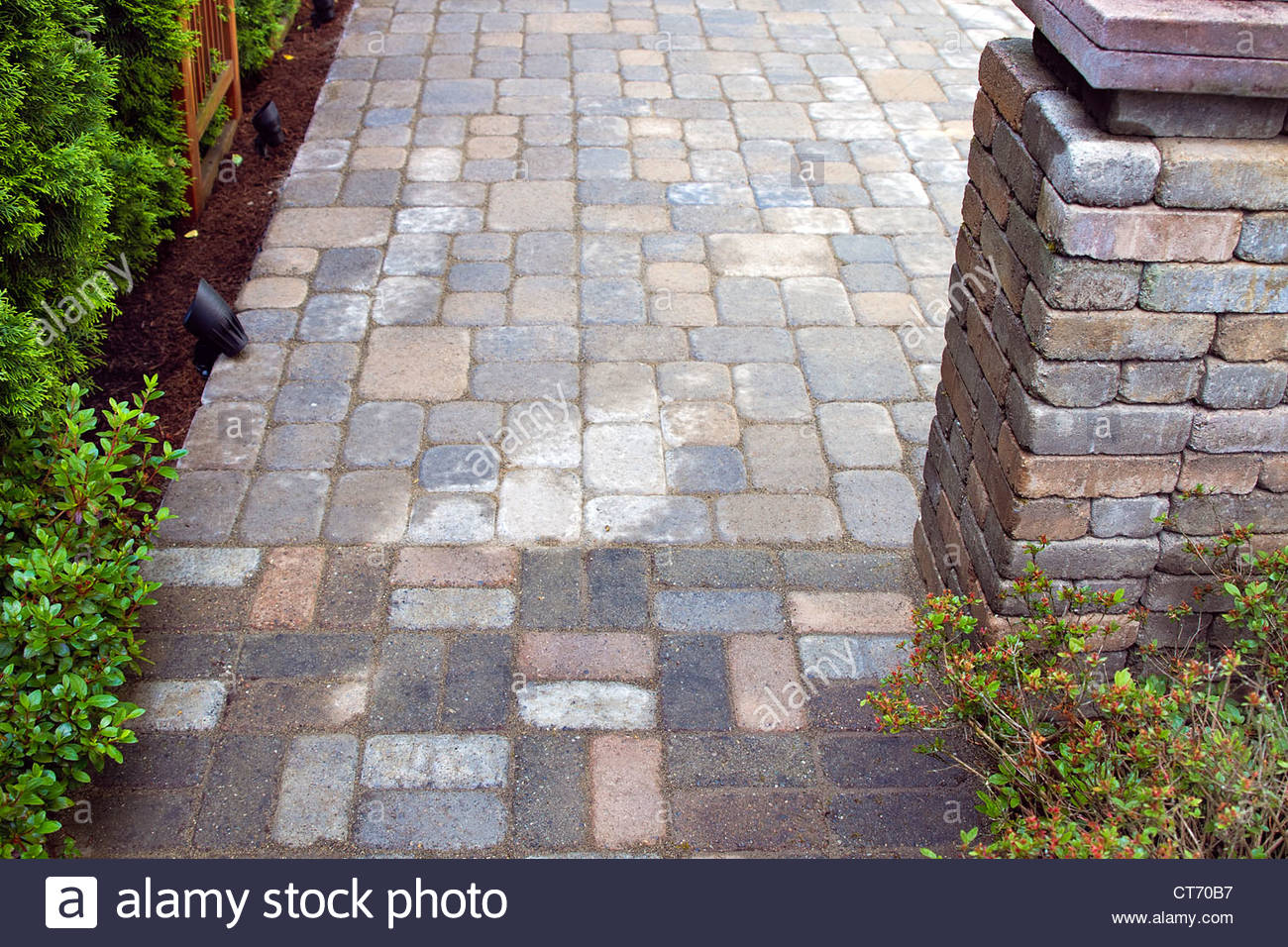 Cement pavers  73