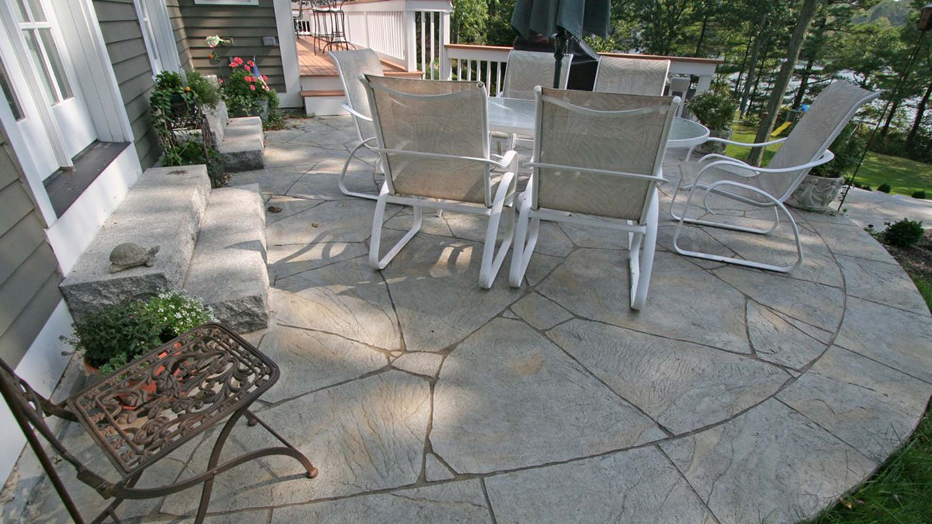 Concrete patios  71