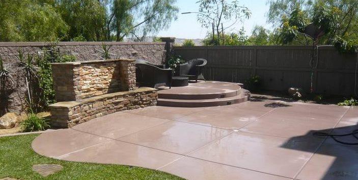 Concrete patios  95