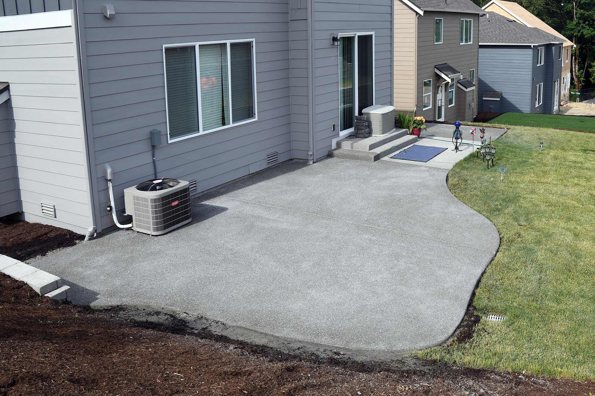 Concrete patios  96