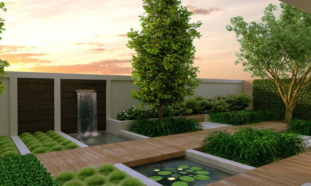contemporary garden design  11