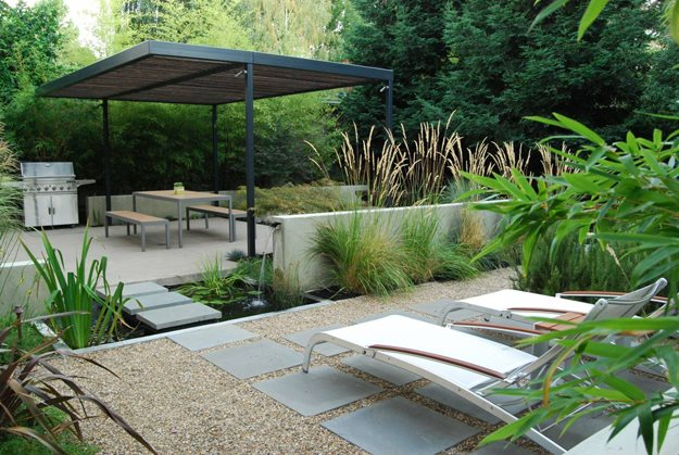 contemporary garden design  81