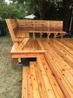 deck benches  26