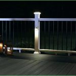 Deck Post Lights Increase Efficacy of the Patio