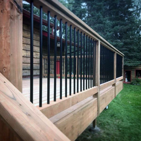 Deck railing ideas  68