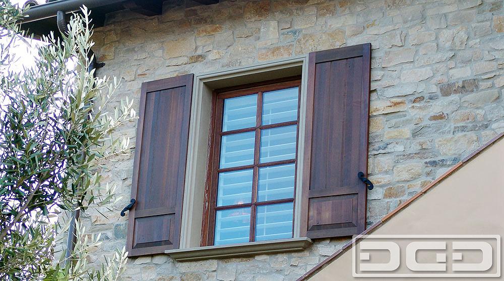 Exterior shutters  59