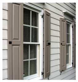 Exterior shutters  86