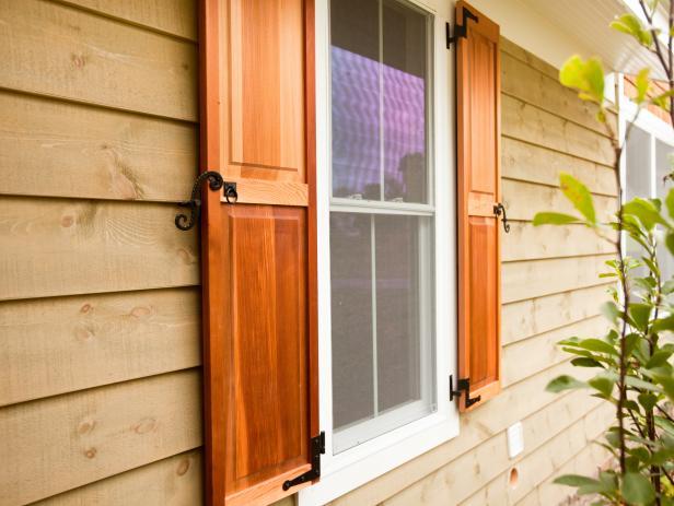 exterior window shutters  56
