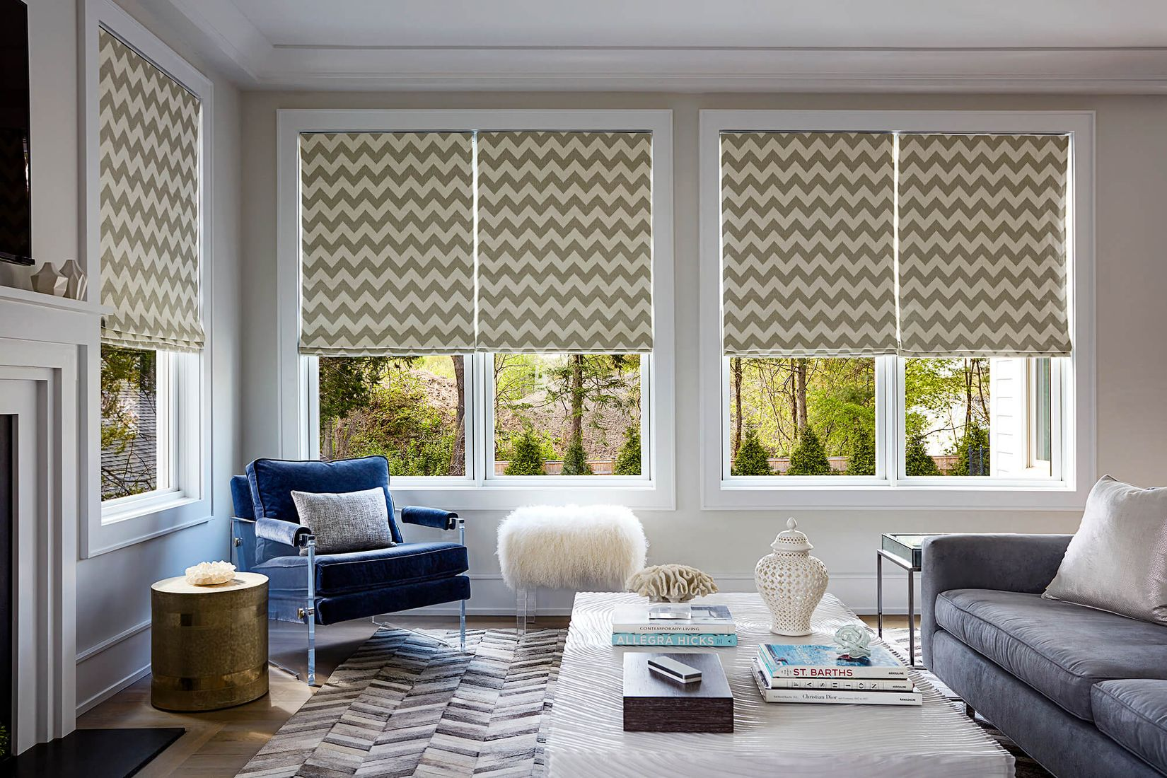 Fabric blinds  89
